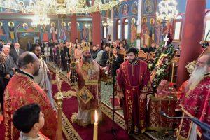 Αρχιερατική Θεία Λειτουργία, εις τον Ιερό Ναό του Αγίου Δημητρίου Πολυδενδρίου