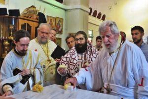 Εγκαίνια Ιερού Ναού της Αγίας Μαρίνης από τον Μητροπολίτη Περιστερίου