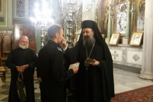 Προσκύνημα Ρώσων Ναυτικών στον Άγιο Ανδρέα Πατρών