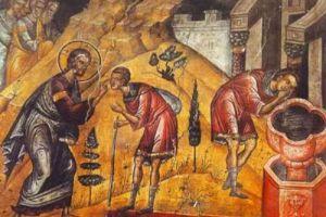 Ο μακαριστός Άγιος Γέροντας Ιάκωβος Τσαλίκης εκβάλει τα δαιμόνια και καθυβρίζεται από αυτά