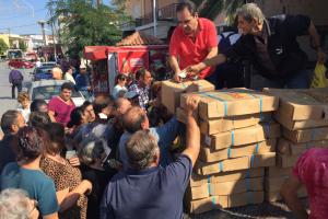 Η «Αποστολή» στηρίζει 2182 οικογένειες στη Θράκη, τη Λέσβο και τη Λήμνο