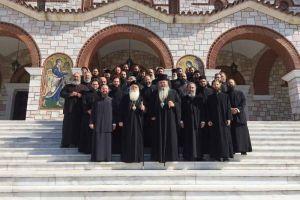 Προσκυνηματική εκδρομή Ιερέων του Βόλου, σε Μητροπόλεις της Βορείου Ελλάδας