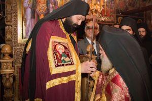 Η ενθρόνιση του νέου Ηγουμένου στην Ιερά Μονή Ζάβορδας