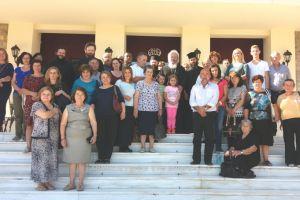 Προσκυνητές από την Ι.Μ. Καρπενησίου στην Αγία Βαρβάρα