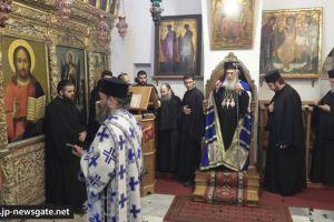 Η εορτή της Αγίας Θέκλης στο Πατριαρχείο Ιεροσολύμων