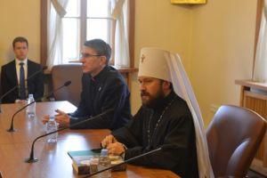 Συνάντηση του Μητρ. Ιλαρίωνα με ομάδα Ρωμαιοκαθολικών Ιερέων και Ιεροσπουδαστών από την Κολωνία