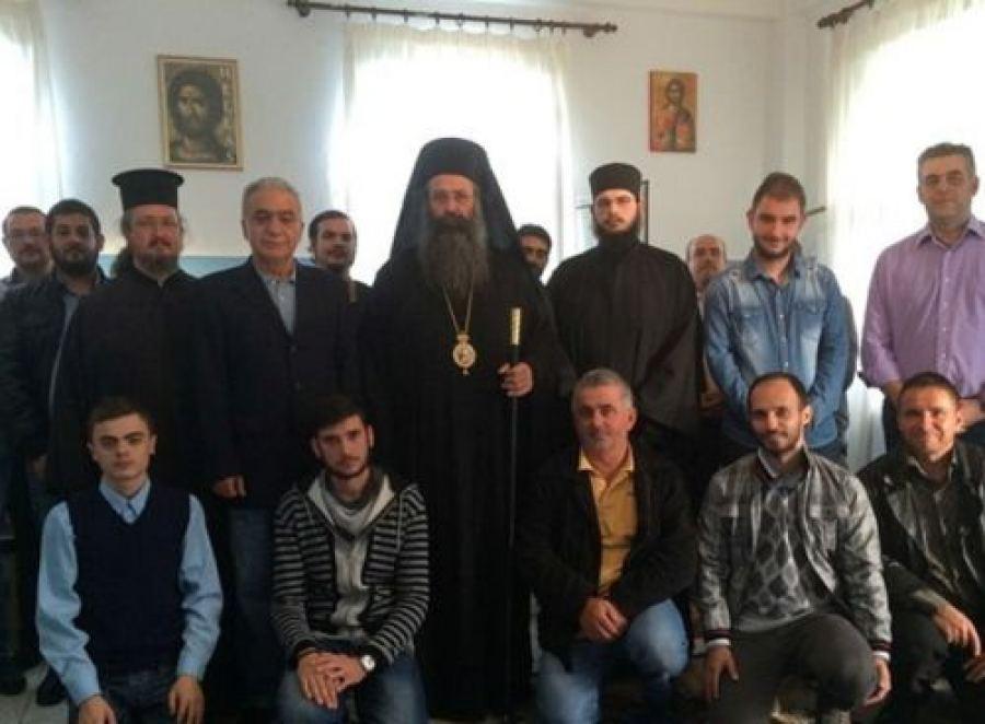 Διαμαρτυρία για την αναστολή λειτουργίας της Ιερατικής Σχολής Δευτέρας Ευκαιρίας Κατερίνης