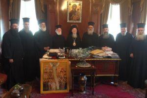 Η Ιεραρχία της Εκκλησίας της Κρήτης στην Πόλη για τα 25 χρόνια Πατριαρχίας του Κων/πόλεως Βαρθολομαίου