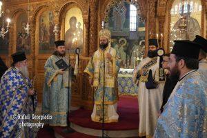 Η εορτή της Αγίας Σκέπης στην Ιερά Μητρόπολη Μαρωνείας