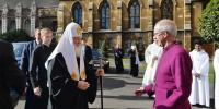 Συνάντηση Πατριάρχη Μόσχας με τον επικεφαλής της Αγγλικανικής Εκκλησίας