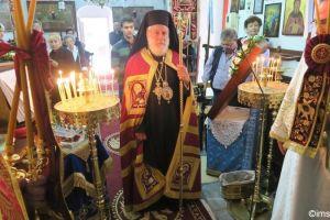 Στον Ι.Ναό του Αγίου Γερασίμου στη Μύκονο ιερούργησε ο Μητροπολίτης Σύρου Δωρόθεος