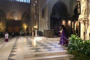 Ορθόδοξος Εσπερινός στην Παναγία των Παρισίων μετά από πολλά χρόνια