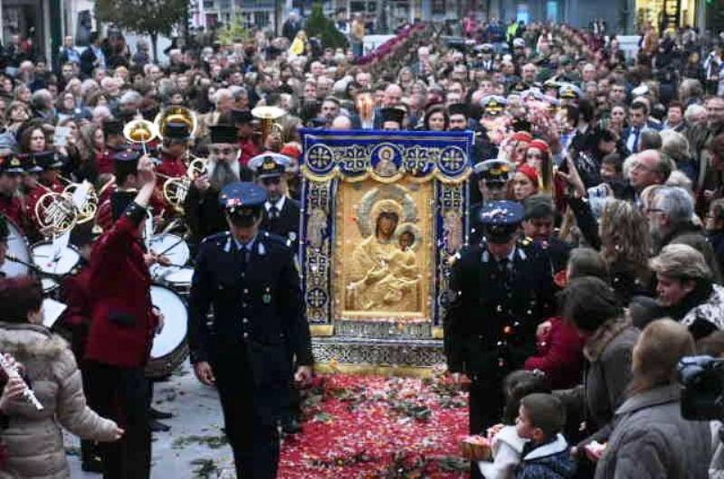 Ο Βόλος υποδέχθηκε την Παναγία Βηματάρισσα