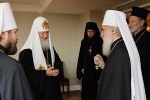 Λονδίνο: Συνάντηση των προκαθήμενων των Ορθοδόξων Εκκλησιών Ρωσίας και Σερβίας