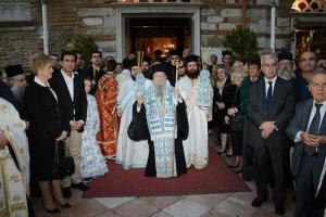 """Θεσσαλονίκης Ανθιμος: """"Με τις πρεσβείες τής Παναγίας, και όλων των Αγίων θα προσπεράσωμε τίς δύσκολες συνθήκες"""""""