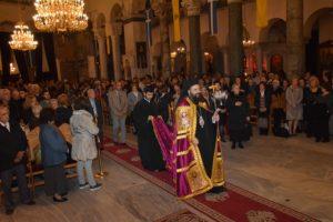 Ο Τρίκκης Χρυσόστομος στην Ακολουθία του Επιταφίου του Αγίου Δημητρίου Θεσσαλονίκης