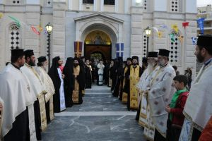 Η Χαλκίδα υποδέχθηκε την ιερή εικόνα της Παναγίας της Γιάτρισσας στην έναρξη των ΚΔ' ΔΗΜΗΤΡΙΩΝ