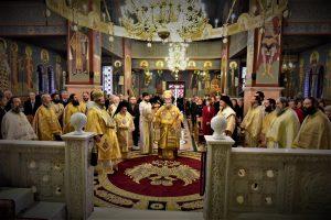 Πανηγυρική Αρχιερατική Θεία Λειτουργία της Εορτής του Αγίου Δαμασκηνού του Στουδίτου, Επισκόπου Λητής και Ρεντίνης,