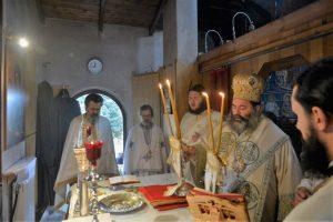 Αρχιερατική Θεία Λειτουργία στην Ιερά Μονή της Μεταμορφώσεως του Σωτήρος Σοχού