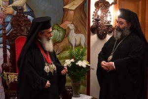 Η επίσκεψη της Α.Θ.Μ. του Πατριάρχου Ιεροσολύμων κ.κ. Θεοφίλουστην Ι. Μ. Λαγκαδά