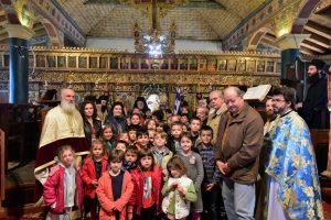 Αρχιερατική Θεία Λειτουργία της εορτής των Παμμεγίστων Ταξιαρχών και την εις Διάκονον Χειροτονία του π. Νικολάου στην ΌσσηΛαγκαδά