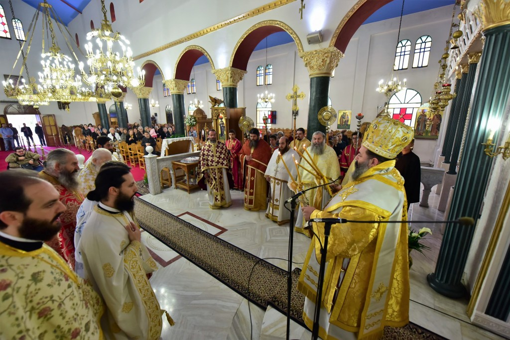 You are currently viewing Αρχιερατική Θεία Λειτουργία της εορτής του Αγίου Νεκταρίου, Επσικόπου Πενταπόλεως