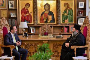 Επίσκεψη του Γενικού Προξένου της Τουρκίας στην Θεσσαλονίκη