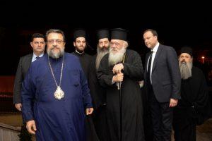 Στον εορτάζοντα Μητροπολίτη Μεσσηνίας ο Αρχιεπίσκοπος Ιερώνυμος