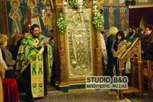 Το Ναύπλιο τιμά την Παναγία την Γερόντισσα