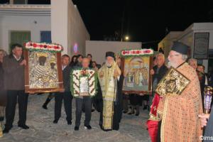 Παναγίες του Αιγαίου: Οι Αμοργιανοί γιόρτασαν την Χοζοβιώτισσα και οι Κιμώλιοι την Οδηγήτρια