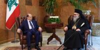 Ο Πατριάρχης Αντιοχείας συνάντησε τον νέο Πρόεδρο του Λιβάνου