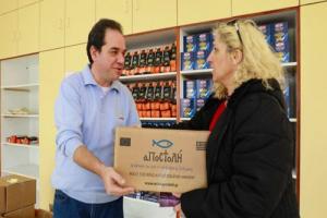 Η «Αποστολή» συνεχίζει να στηρίζει 413 οικογένειες στη Λέσβο και στη Χίο