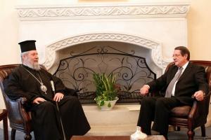 """Κύπρου: """"H Εκκλησία θα συνεχίσει να στηρίζει τον Πρόεδρο Αναστασιάδη"""""""