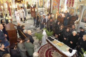 H Κίμωλος αποχαιρέτησε τον π. Δημήτριο Ράμφο