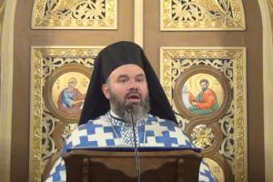 Αρχιμ. Διονύσιος Κατερίνας: Εισέρχεται η Θεοτόκος για ιεροπρεπή και θαυματουργική ανατροφή και διατροφή