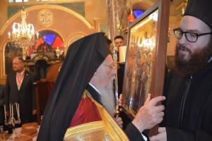 Η Πατριαρχική χοροστασία στον Ι.Ν. Αγίων Δώδεκα Αποστόλων στο Φερίκιοϊ