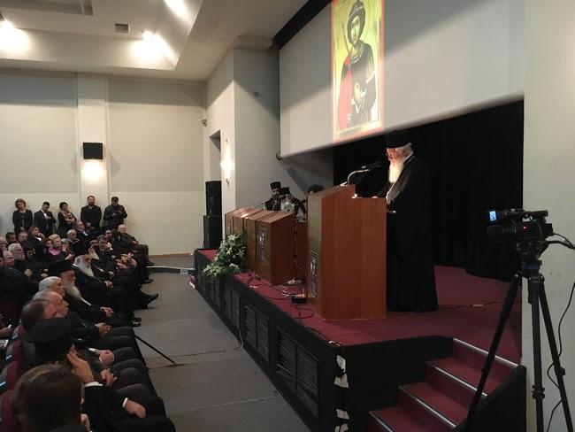 """Αρχιεπίσκοπος Ιερώνυμος για τα μοναστήρια της Βοιωτίας : """"Τα καμαρώνουμε τα μοναστήρια μας και τα θαυμάζουμε"""""""