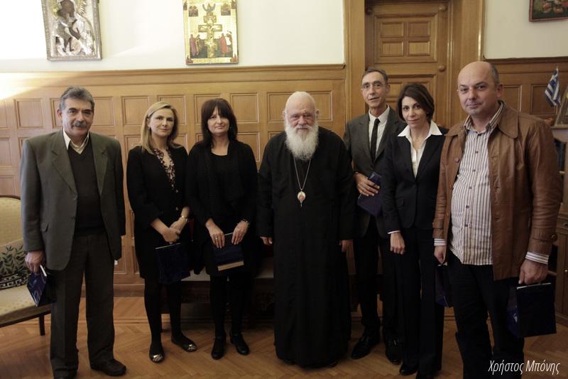 Ο Αρχιεπίσκοπος Ιερώνυμος στο επίκεντρο επισκέψεων