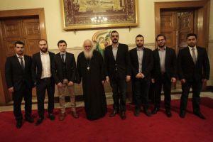 Ιδιαίτερη κινητικότητα του Αρχιεπισκόπου με συναντήσεις με βουλευτές, φορείς και σωματεία