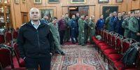 Οι αεροπόροι που συμμετείχαν στην αεροπυρόσβεση στο Ισραήλ επισκέφθηκαν τον Πατριάρχη Ιεροσολύμων