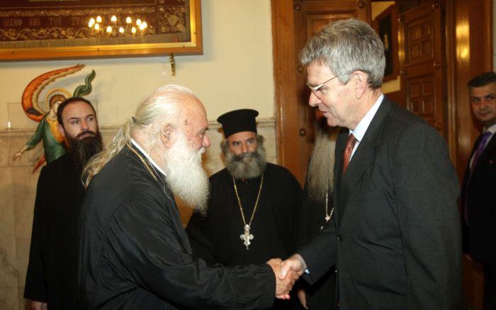 Τους πρέσβεις Αρμενίας και ΗΠΑ δέχθηκε ο Αρχιεπίσκοπος