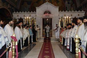 Ο εορτασμός των Εισοδίων της Θεοτόκου στη Μητρόπολη Κορίνθου