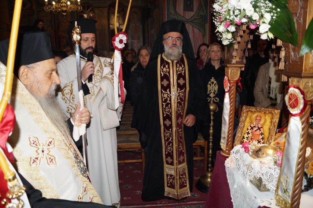 Στη Λάρισα η κάρα του Οσίου Νικηφόρου Πατριάρχου Κωνσταντινουπόλεως
