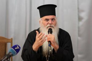 Ο Μεσογαίας Νικόλαος στο Κίεβο της Ουκρανίας