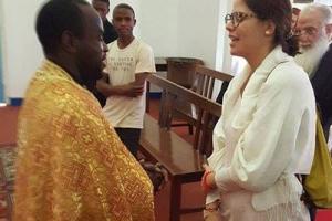 Μεσσήνια θεολόγος, εκπρόσωπος της Εκκλησίας της Ελλάδος στην Τανζανία