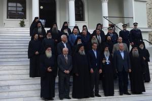 """Κ. Μητσοτάκης: """"Το Άγιον Όρος,φάρος ελπίδας για όλους τους Ορθόδοξους"""""""