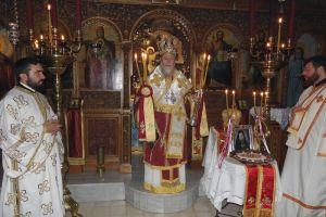 Αρχιερατικό 3ετές Μνημόσυνο Μακαριστού Επισκόπου Κανώπου από τον Μητροπολίτη Κορίνθου