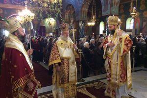 Πολυαρχιερατική Θεία Λειτουργία επί τη μνήμη του Αγίου Γεωργίου Νεαπολίτου,πολιούχου Ν. Ιωνίας