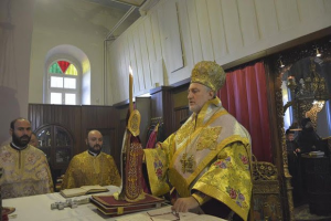 Tα ονομαστήρια του Μητροπολίτη Προύσης Ελπιδοφόρου στη Χάλκη