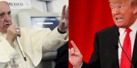 """Αρνείται να .. """"σχολιάσει"""" την εκλογή του Τράμπ o Πάπας"""